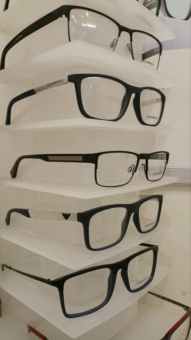 armani glasses stock